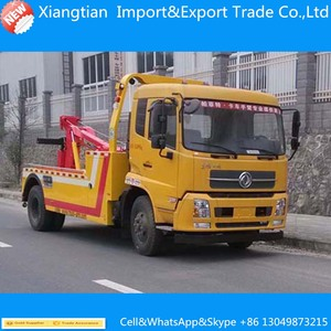 Good price Dongfeng wrecker truck lifting capacity 5 ton road wrecker tow truck for sale