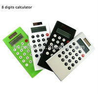 Solar cell phone calculator
