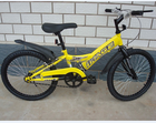 20 BMX yellow mini bicycle for sale HL-M041