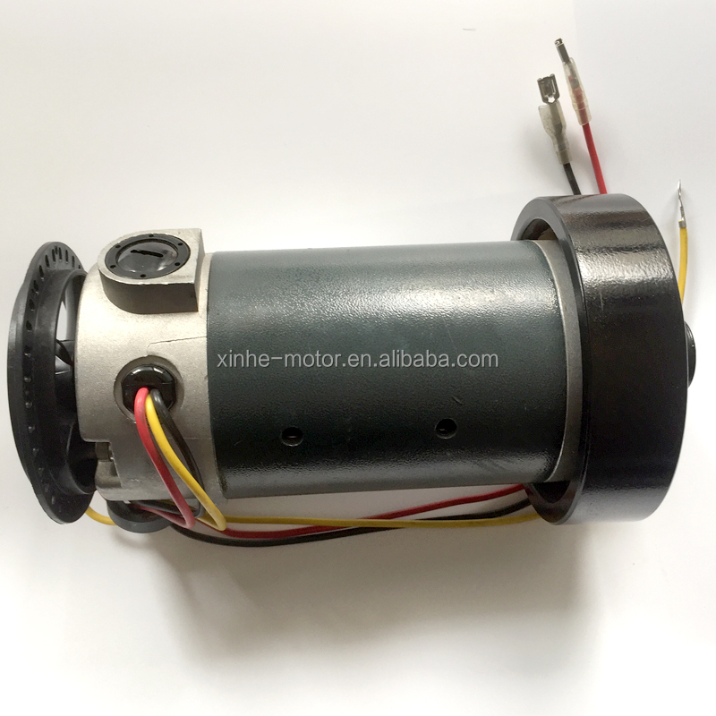 High Quality 12v 24v 1HP 1.5hp dc electrics treadmill motor