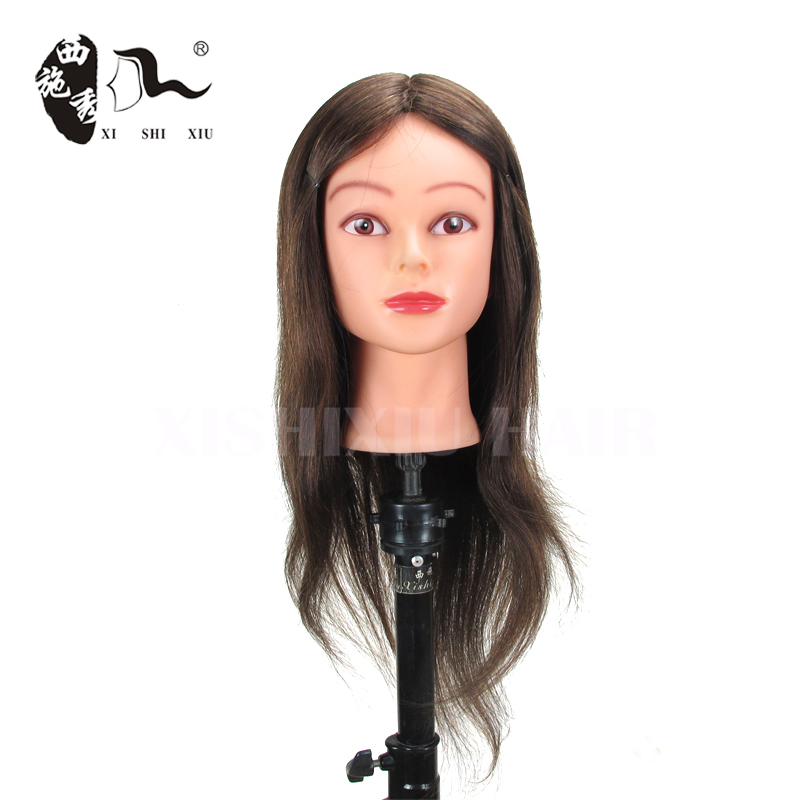 OEM accept custom beautiful wholesale cosmetology hair wig making mannequin head