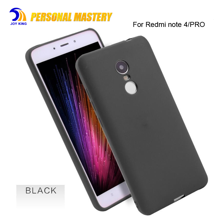 For Xiaomi Redmi Note 4 Case Tpu Frosted Soft Matte Plastic Ultra Thin Slim  Light Case For Redmi Note 4x Pro Note 3 A1 5x Black - Buy For Redmi Note 4