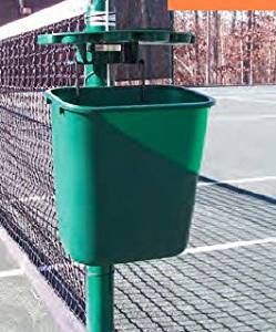Har-Tru Tennis, Bocce, Golf Court Accessories - Court Valets - Tidi-Court Court Organizer - BLACK (129-5001)