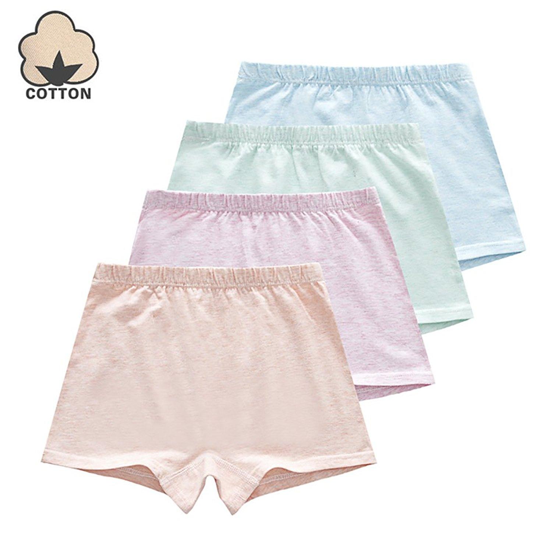 02c9dbe92a0c Get Quotations · Girls' Boyshort Hipster Panties Cotton Panties Girls  Underwear (Pack of 4)