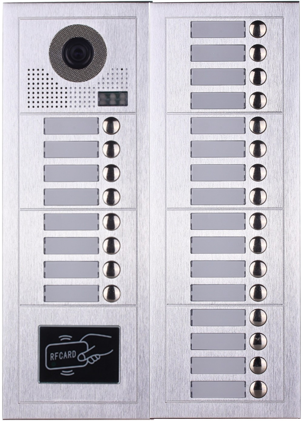 2 Wire Apartment Video Door Phone Intercom System With Bell