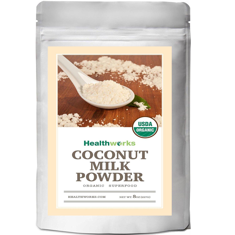 Healthworks Coconut Milk Powder Organic (Dairy Free), 8oz
