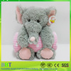 Wholesale toy from china soft baby blanket with plush elephant child toy