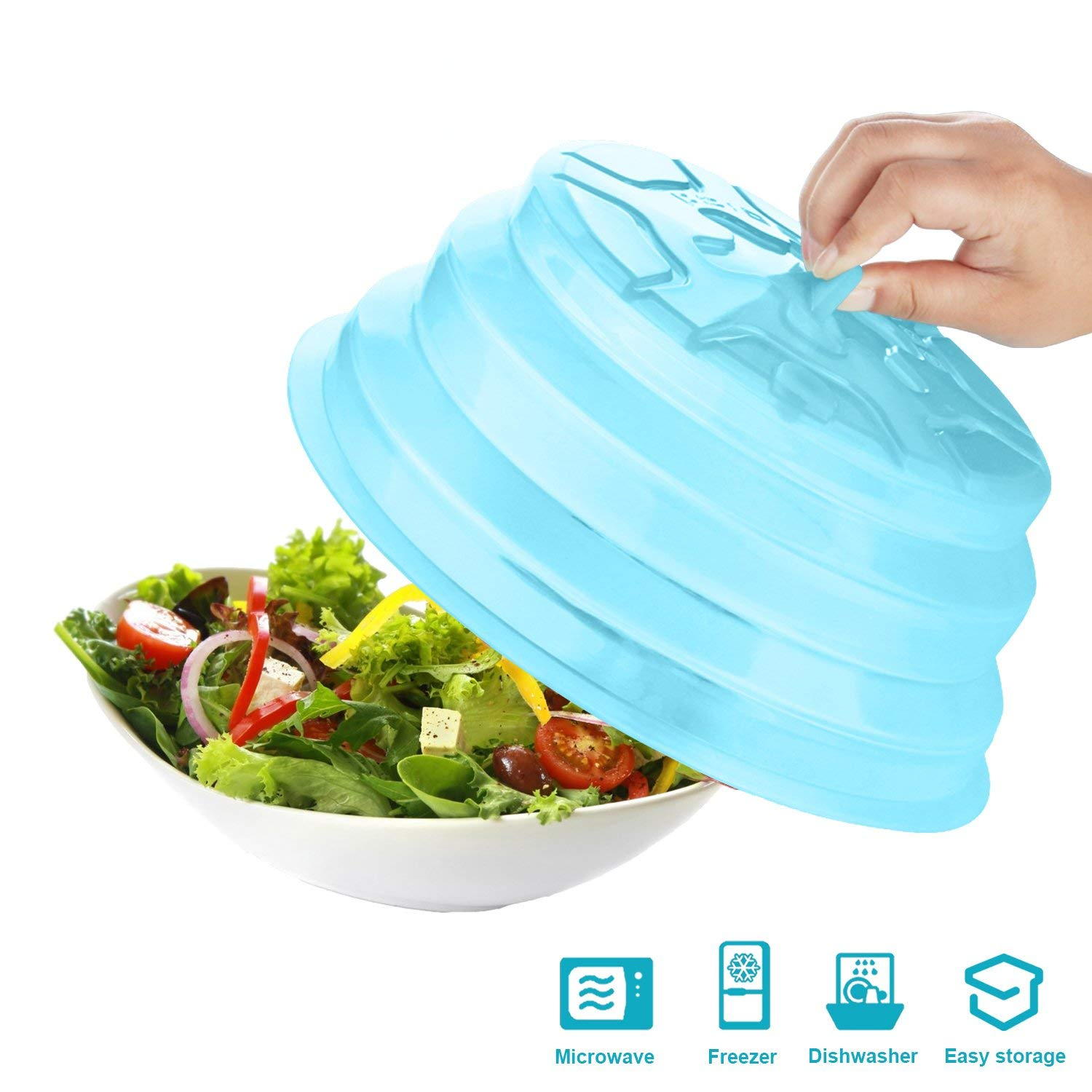 Buy Collapsible Microwave Food Cover Plastic Microwave