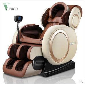 2018 New S-track Zero Gravity 3D PRO Massage Chair Full Body with Foot Massager