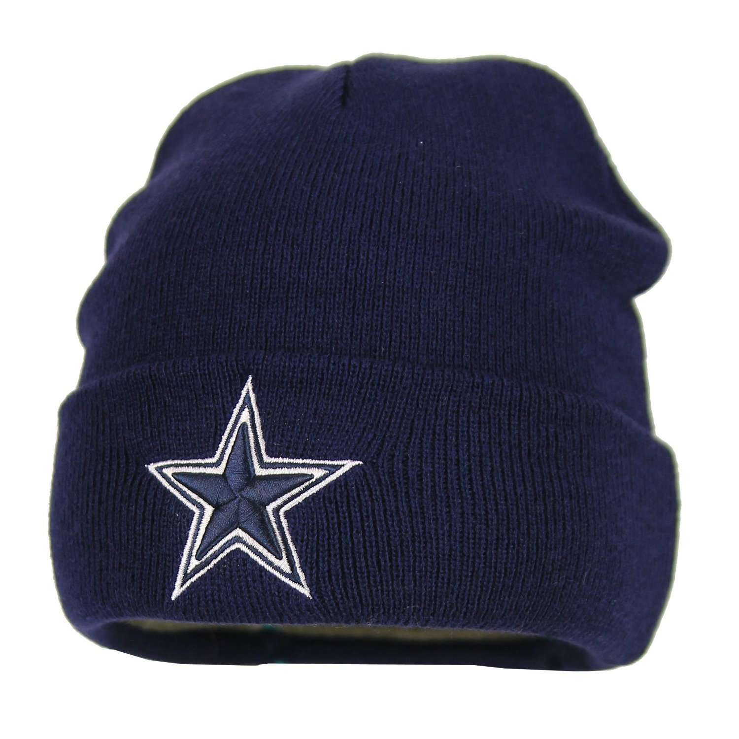 73135fe82e79a Get Quotations · Dallas Cowboys Basic Knit Hat (Navy)