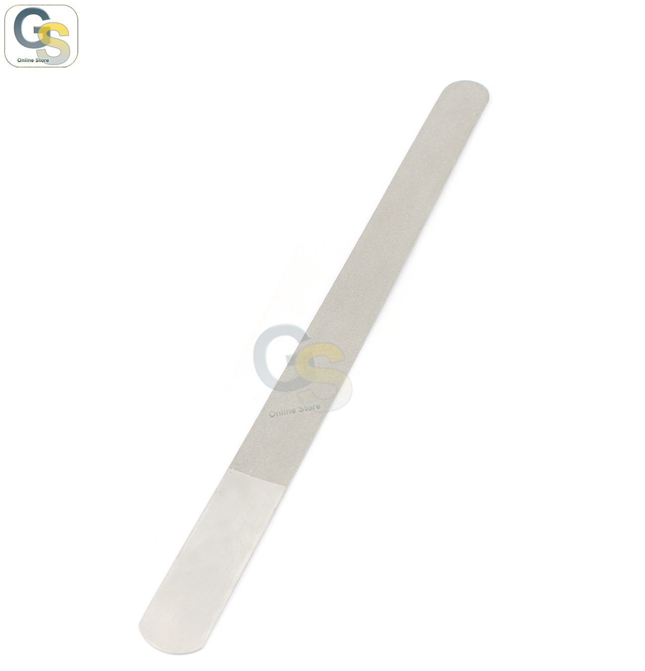 G S 8 Diamond Deb Nail File Double Side Care Podiatry Stainless Steel