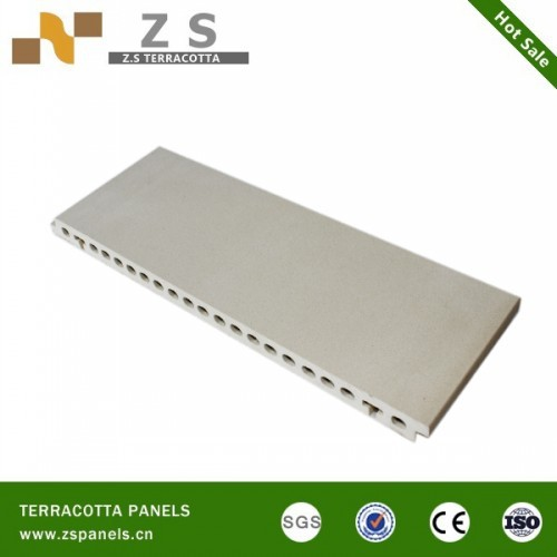 Terracotta facade wall panels for green building exterior for New tile technology