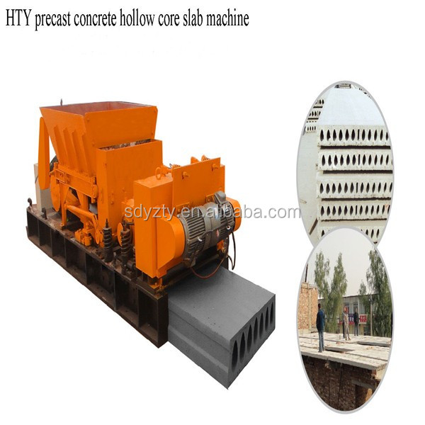 Prestressed Concrete Slab Making Machines Precast Hollow Core Slab Machine