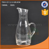 1400ml handmade glass water jug glass pitcher with handle