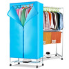 Hot selling rectangle wardrobe type portable clothes dryer air baby cheap cloth dryer