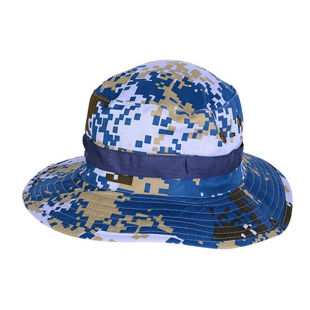 8cec447f Get Quotations · Aotu Cotton Cap Classic Camouflage Fishing Cap Jungle Hat  Outdoor Ben Nepal Sun Hat (Stlye