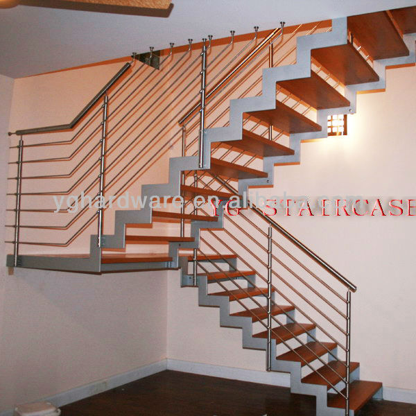 Timber Steel Staircase YG-9004-25