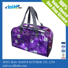 2014 Recyclable laminantion Large PP Woven Zipper Package Bag For Packing