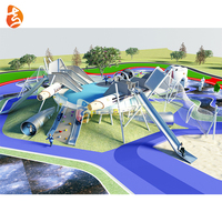 China supplier hot sale large outdoor playground park, space theme multifunction park for kids and adult