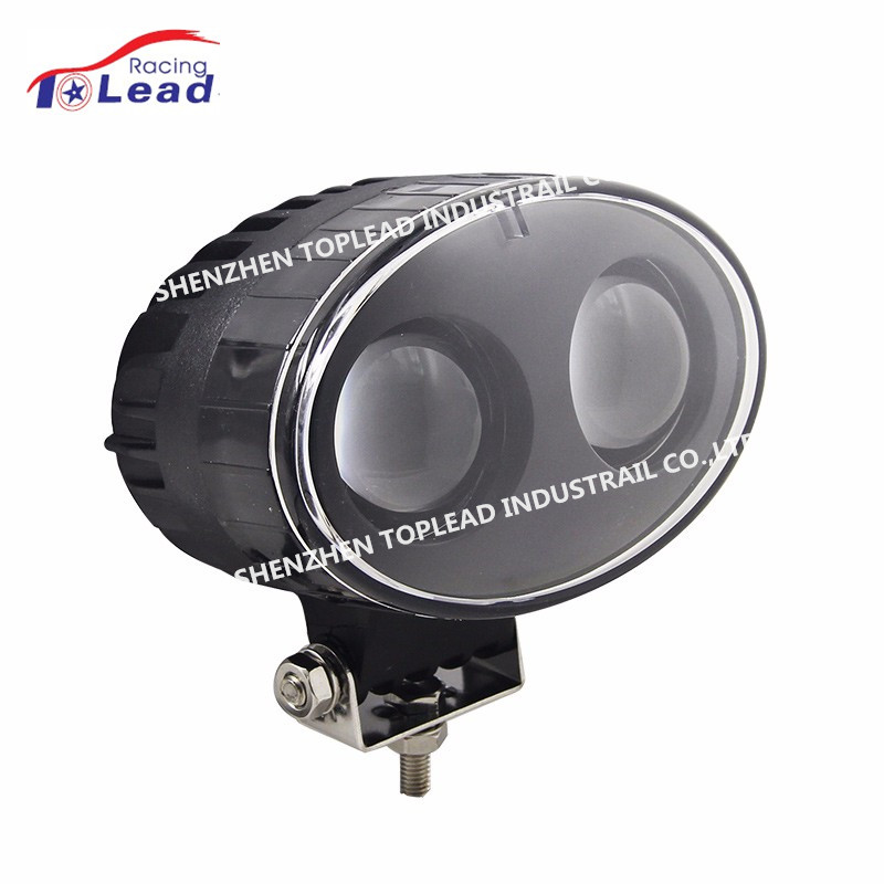 Top Lead 12-80V Blue Forklift Light, 20W LED Work Safety Light