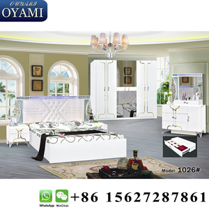European Modern double bed design furniture Bed bedroom furniture