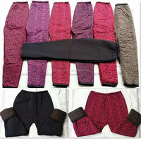 1.54 Dollar Top Cold Winter Thermal Ladies Warming Velvet Trousers/Women's Pants/Pants (gdzw458)