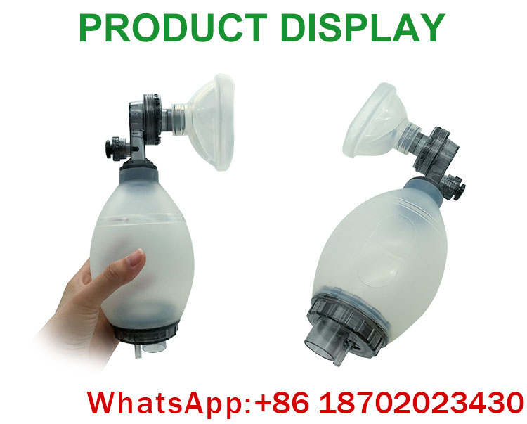 IN-K001 China cheap medical equipment Emergency Ambulance Manual Portable Resuscitator Ambu Bag price for sale