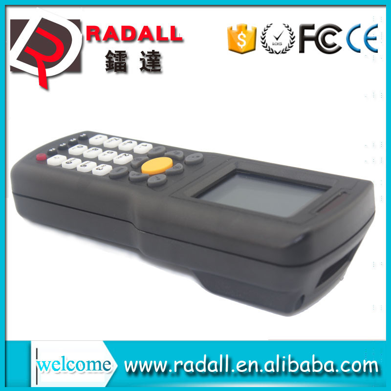 Trade Assurance RD 9800 wireless datacollector code mobile bar scanner upload data to excel with keyboard