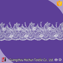 HC-3843 Hechun 2017 new design fancy hand beaded embroidery lace trim