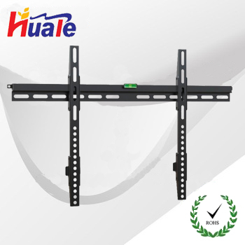 Slide design simple Black 26''-60'' Fixed Flat Panel lcd TV wall mount