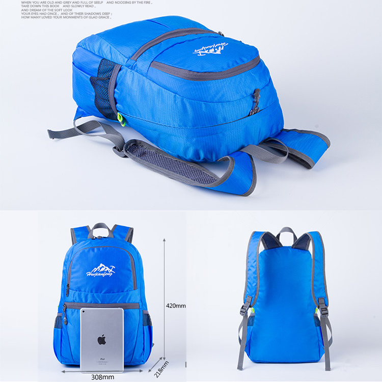 5d4044b563a Nylon Most Durable Foldable Backpacks Ultralight Lightweight Foldable  Backpack