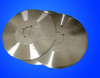 Circular blade cutter knife blade at the bottom slitter