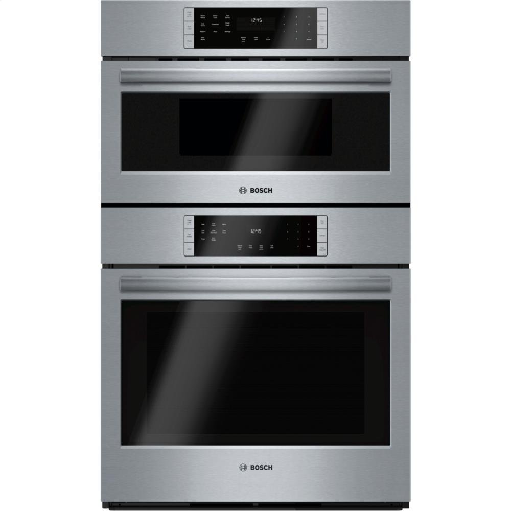 Get Quotations Bosch Hbl8751uc 800 30 Stainless Steel Electric Combination Wall Oven Convection Sd