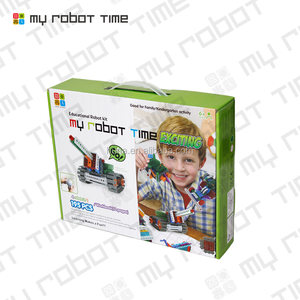 My Robot Time Sensing plastic DIY educational toy robot for kids