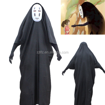 Hot Sale Movie Spirited Away The Mystery No Face Male Cosplay
