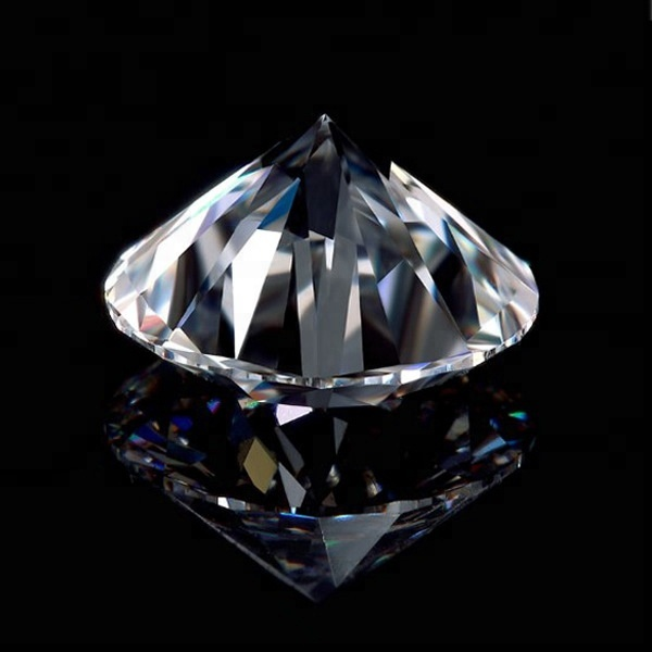 Top quality moissanite diamond D color FL GRA cut loose moissanites 1 carat white moissanite diamond price