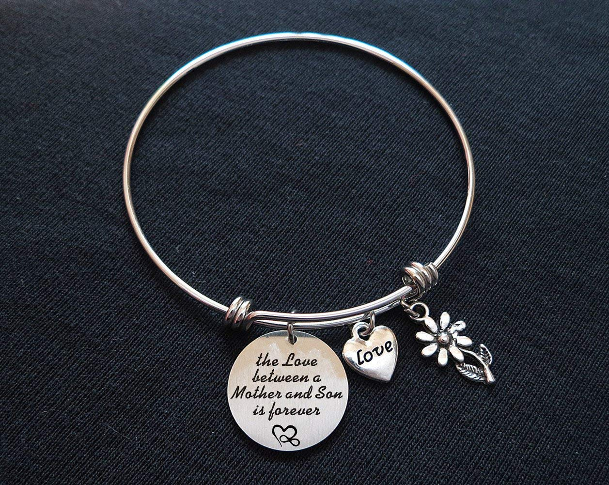 Get Quotations Mom Son Bracelet Mothers Day Gift From
