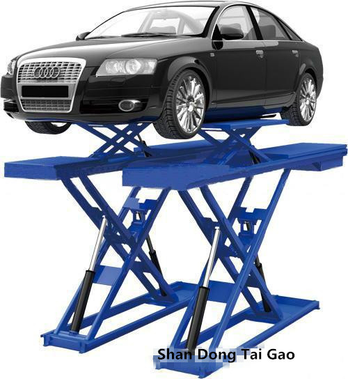 In Floor ground underground Mechanical electric Used 3.5T Scissor Hydraulic Car Lift Price for Sale