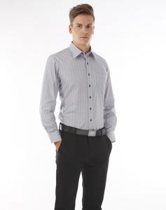 100% cotton long sleeve men's dress shirt with good quality