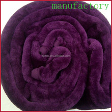 super soft 100% polyester plush mink fur throw blanket oversize double king