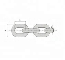 British Standard Short Anchor Link Chain , Small Link Chain