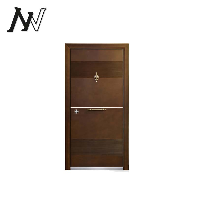 Hot wholesale new fancy design solid wood carving security Turkish armored doors
