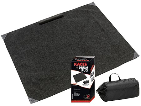 Comme Rug Drum Rug Drum Mat Drum Carpet Dining Living Room Rug Indoor Outdoor Rugs 6ftX6.6ft Black