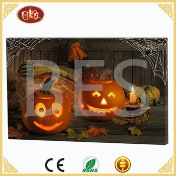 Cheapest Home Decoration Halloween Halloween Theme Buy Wall Canvas Painting