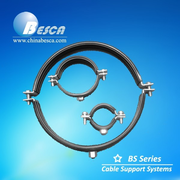 High Quality Electrical Pipe Clamps With Rubber