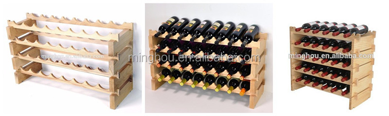 3 Bottle Red Wine Storage Rack Beer Bottle Holder For Fridge Storage With  Metal And PVC