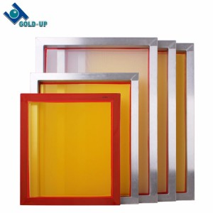 Pre stretched silk screen printing mesh frame / Aluminum silk screen frame for screen printing