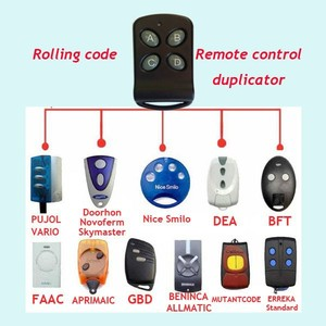 Manufacturer Wireless Transmitter And Receiver Remote Control NIce Smile Remote Control