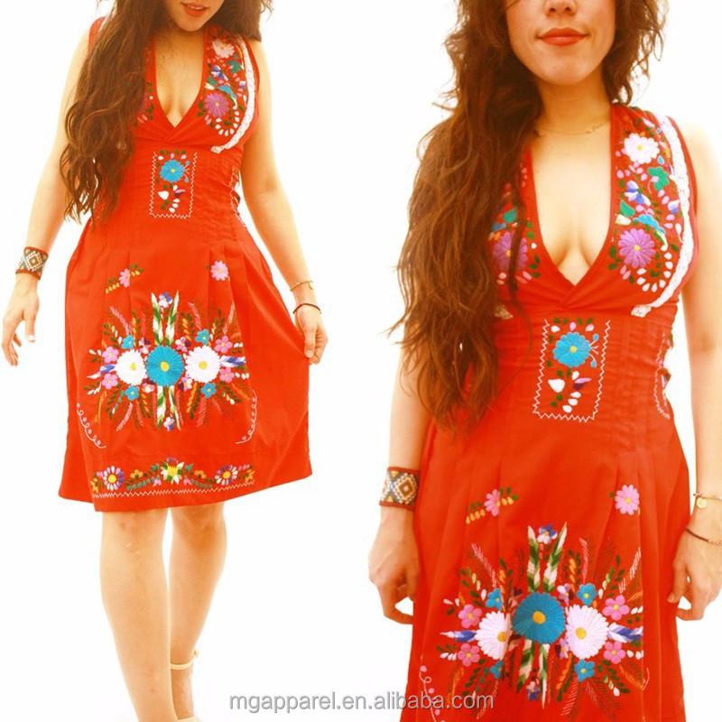 Mexican wholesale fashion dresses