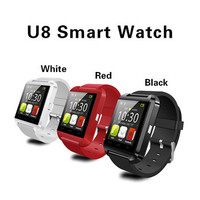 NEW Portable Wireless Wrist Bluetooth U8 Android Smart Watch Cheap U8 Smart Watch